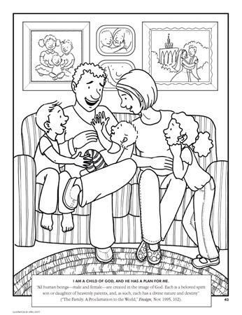 Hermosa Natividad Para Colorear Lds Colección de Imágenes - Páginas ...