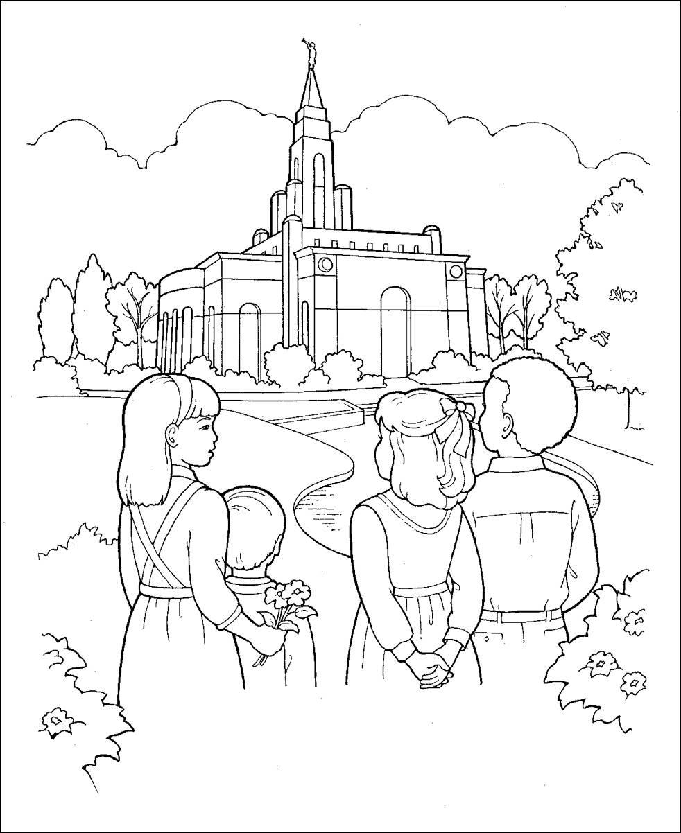 Moderno Libro De Historias Mormon Para Colorear Elaboración ...
